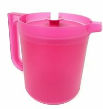 Tupperware  Pitcher Small 1.5qts Push-Button SAME COLOR SEAL ~ Pink  ~ NEW