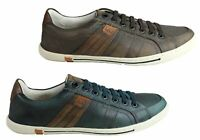 NEW DEMOCRATA VISE MENS LEATHER SLIP ON CASUAL SHOES MADE IN BRAZIL