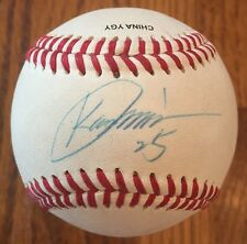 Kaz Matsui #25 Mets Astros Signed Autograph Baseball With COA