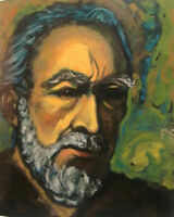 "Anthony Quinn Zorba a Self Portrait ""       Serigraph signed numbered 1985"