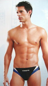 NWT Yingfa 9462  racing & training swim briefs for men & boys-swimming briefs