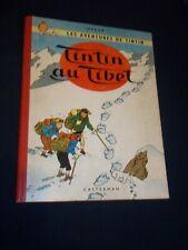 """BD """"TINTIN AU TIBET"""" HERGé (1960) E. O.  BELGE / B 29 / CASTERMAN"""