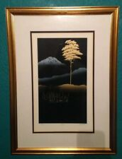 Original Japanese IAN W. KING Limited edition Lithograph with Hotfoil print