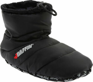 Unisex Baffin Cush Booty Slipper Black Size XL M