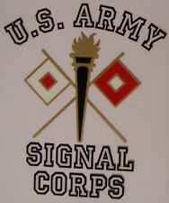 Window Bumper Sticker Military Army Signal Corps NEW Decal