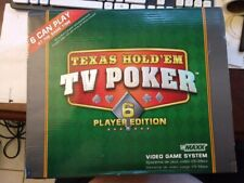 Vs Maxx Texas Hold'em TV Poker .. 6 Player Action in Original Box!