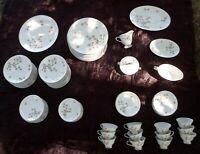 Lot 90 Piece Nikko Woodland Fine China Dinner Ware Set Seyei Japan Plates 1569