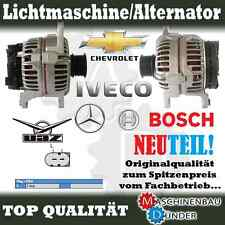 FIAT Ducato 120/130 Multijet 2.3 D / 140A BOSCH Lichtmaschine Alternator NEU NEW