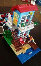 LEGO Creator Seaside House (7346) 97% Complete used lego set
