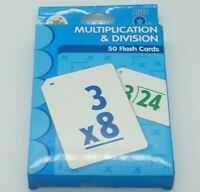 Multiplication & Division - 50 Flash Cards - Bendon Publishing - ede