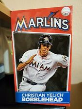 Miami Marlins Christian Yelich MVP MLB #21 Bobble head New With Box.