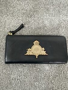 Mulberry Black Leather Zip Purse