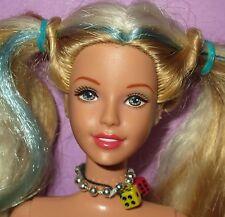Barbie Tori Generation Girl Blonde Blue Hair Friend Doll for OOAK Custom Play!