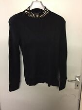 Lipsy Black Roll Neck Jumper Size 16