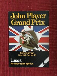 John Player Grand Prix Programme, Silverstone, 14-15 August 1976