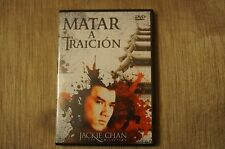 """Jackie Chan """"Matar a Traición"""" DVD 2007, Castellano."""