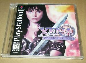 Xena: Warrior Princess With Manual for Playstation PS1 Fast Shipping!