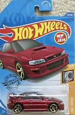 Hot Wheels Toy Car 23/250 - HW Turbo 1/5 - '98 Subaru Impreza 22B STi (New 2020)