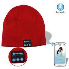 Cuffie Auricolari Incorporate nel Cappello Rosso 0aaa377cd370