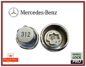 New Mercedes Benz Locking Wheel Nut Key Number 312 - UK Seller
