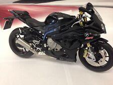 Genuine BMW Diecast 1/10 S 1000 RR (K46) Motorcycle Black Sapphire