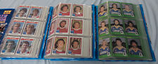 #ZZ7.  COLLECTION OF 1980, 1981 & 1982  SCANLENS   RUGBY LEAGUE CARD SETS