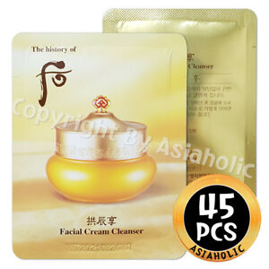 The history of Whoo GongjinHyang Facial Cream Cleanser 2ml x 45pcs (90ml) Newist