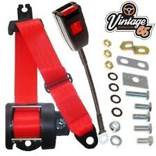 Rover P4 60 75 80 90 95 105 & 110 Berlina Front Automatic Seatbelt Kit Red