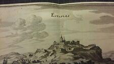 Étaples Etaples Original Kupferstich Merian 1640