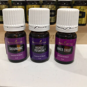 Young Living Essential Oils - Grounding, Highest Potential, Inner Child