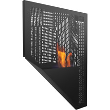 Portland modern wall mounted bioethanol fireplace