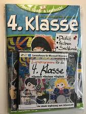 Mein Spaß- u. Lernbuch 4. Klasse Deutsch Mathe Sachkunde m. CD LernSoftware NEU