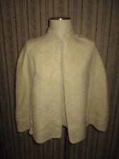 VINTAGE women's creme MON REPOS alfpaca wool cape - ONE SIZE