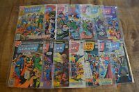 Justice League of America 159-161 163-173 DC Bronze Age Comics VF / VF+