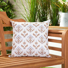 Natural Floral Waterproof Canvas Outdoor Scatter Garden Filled Cushion Printed