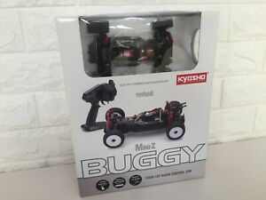 Very Rare Kyosho MINI-Z Racer Buggy Clear Body&MB-010VE Chassis&Propo Ready Set