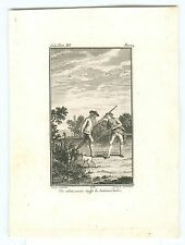 Ancienne orig. pression, chasse chasseur, Emile tom III, Moreau 19 siècle. #h617