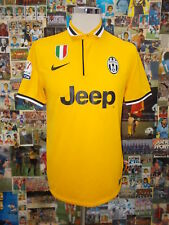 maglia calcio shirt maillot camiseta trikot JUVENTUS JUVE VIDAL TG M PATCH