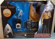 STAR TREK ~ CAPTAIN KIRK ACTION COSTUME SET~ BOYS AGED 4-6 YRS ~ BNIB
