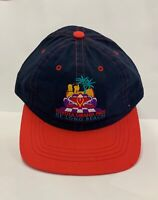 Toyota Grand Prix of Long Beach Baseball Cap Navy Blue and Red Made in USA Hat