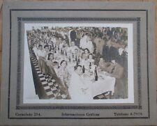Cuba 1939 Photograph: Large Dinner Party - 'Club Navia Finca Las Piedras'