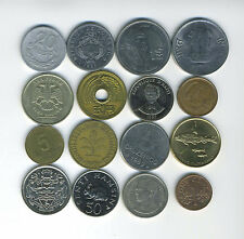 Lot of 16 World Coins - 16 Different Countries - Great Starter - Lot #147