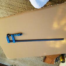 Blue handled 3 Pc F clamp Bar