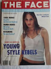 The Face Magazine, June 92, Brad Pitt, Deelite, Michael Clark, Ketamine