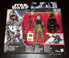 Star wars rebel commando pao + imperial death trooper action figure lot de 2 neuf
