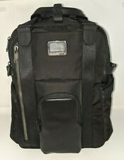 TUMI Alpha Bravo Kings Backpack Tote * Laptop * Black Nylon w/Leather * 232400D