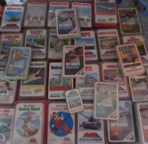 VARIOUS 1980/90'S ACE TRUMPS, TOP-TRUMPS, QUARTET CARD GAMES