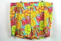 "Chubbies Mens Size 2XL Floral 7"" Swim Trunk Shorts Drawstring Mesh Lined"