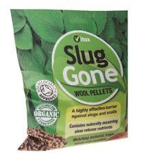 Slug Gone by Vitax, natural wool barrier Slug pellets -1 litre pouch