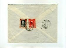 1970 IRAN COMPANY MANSOUR-AALAM AIR MAIL Registered Letter to FRANCE+2 SHAH -930